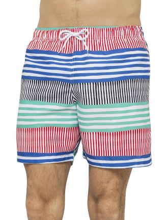 Sor Rhodes Mid Length Swim Trunk