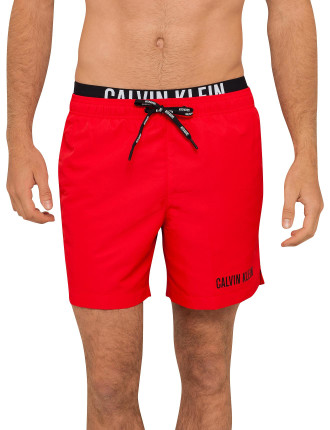 Intense Power Medium Double Waistband Swim Short