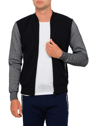 Gym Tech Embossed Bomber
