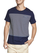 Short Sleeve Sailor Stripe Tee $29.95