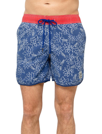 Speedo Djs Exclusive Floral Watershort