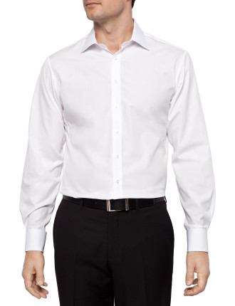 Solid Poplin Slim Fit Shirt