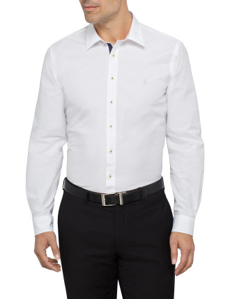 Snell Contrast Trim Casual Shirt