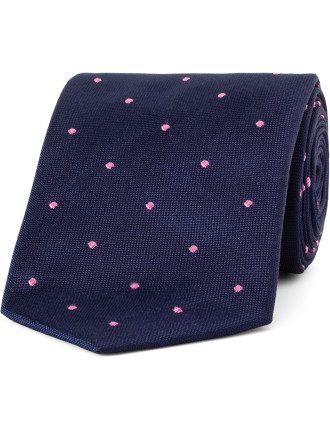 Birchill Spot Woven Tie