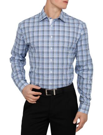 Bay Check Slim Fit Shirt