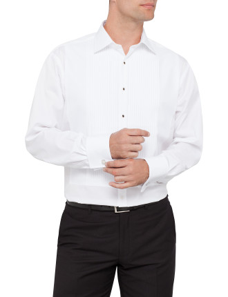 Regular Fit Pleat Front Shirt