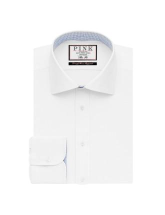 Davenport Plain Button Cuff Shirt