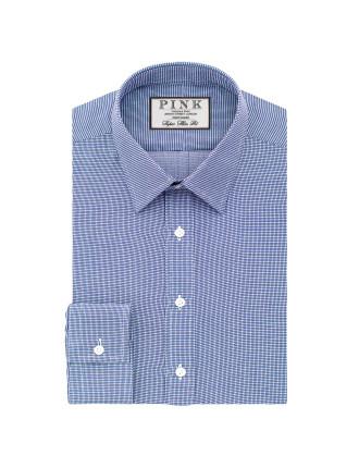 Hartley Textured Button Cuff Shirt
