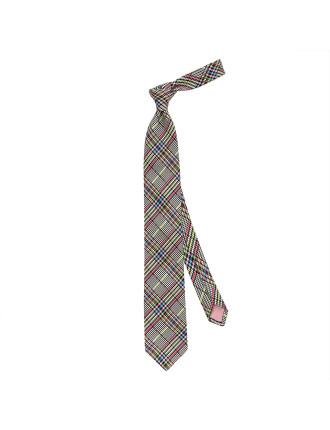 Haldane Check Tie