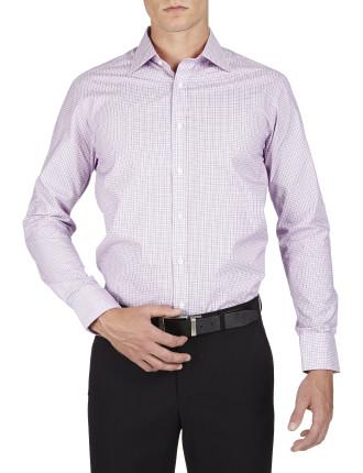 Venning Check Semi Cutaway Classic Fit Shirt