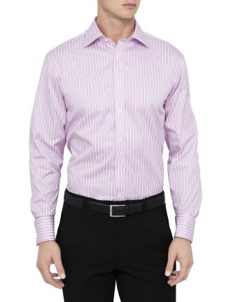 Prescott Stripe Semi Classic Classic Fit Shirt