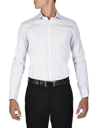 Cobbe Stripe Semi Classic Classic Fit Shirt