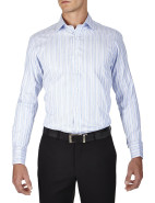 Haly Stripe Prestige Classic Fit Shirt $199.00