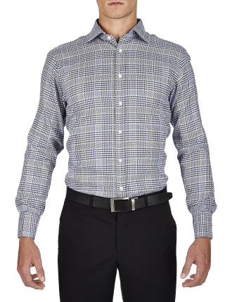 Bruni Check Prestige Classic Fit Shirt
