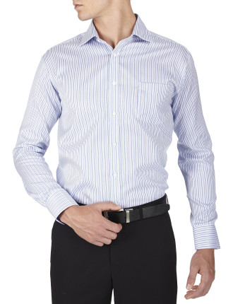 Lyttelton Stripe Traveller Classic Fit Shirt