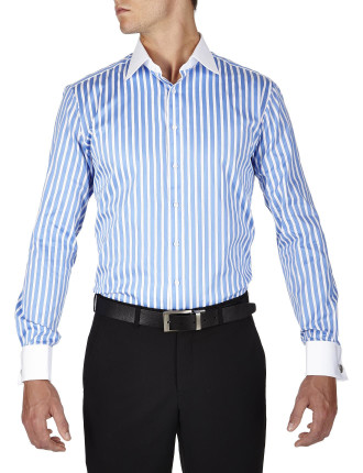Gladwin Stripe  Winchester Slim Fit Shirt
