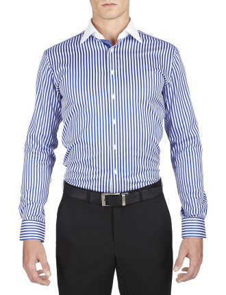 Augistus Stripe Collection Slim Fit Shirt