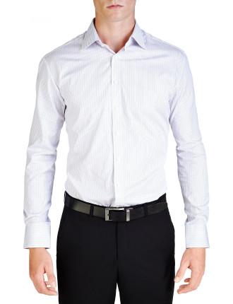 Alexi Stripe Semi Classic Slim Fit Shirt