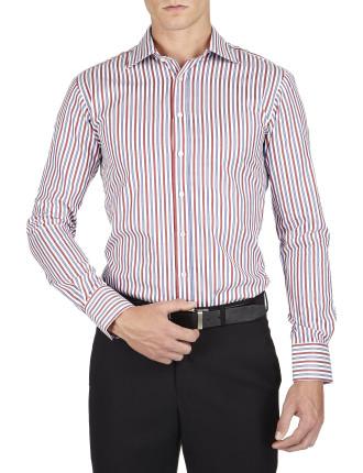 Reating Stripe Semi Classic Slim Fit Shirt