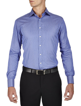 Morris Stripe Semi Classic Slim Fit Shirt