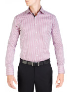 Shirley Stripe Pink & Black Slim Fit Shirt $239.00