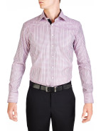 Dorchester Check Pink & Black Slim Fit Shirt $239.00