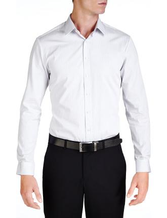 Fitzroy Stripe Super Slim Slim Fit Shirt