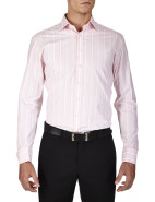 Watson Stripe Pink Prestige Slim Fit Shirt $239.00