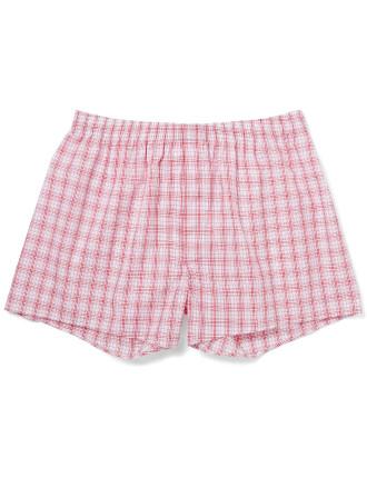 Brentford Check Boxer Shorts