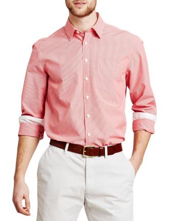 Longitude Check casual shirt