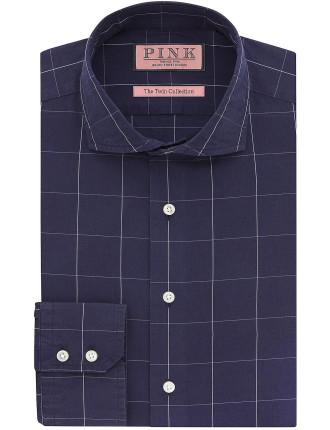 Hallward Check Slim Fit Shirt