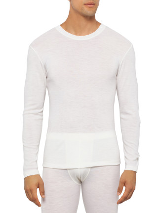 Long Sleeve Pure Wool Thermal