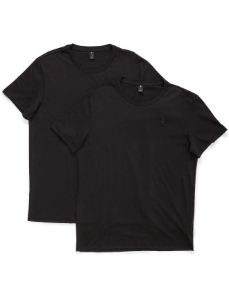 BASE HTR ROUND NECK TEE S/S 2-PACK