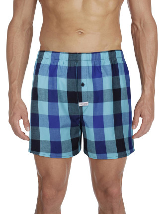 Norris Check Yarn Dyed Boxer