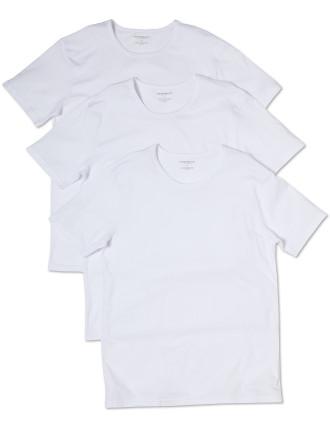 Crew Neck T-Shirt Pack of Three