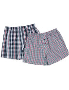 Nautical Check Boxer 2 Pack $27.96
