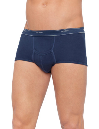 Cotton Interlock Sport Brief With Fly