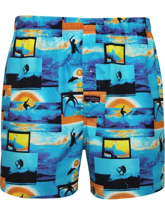 Pro Surfer Printed Boxer - Comd Package