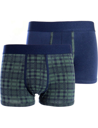 Check and Plain 2 Pack Trunk