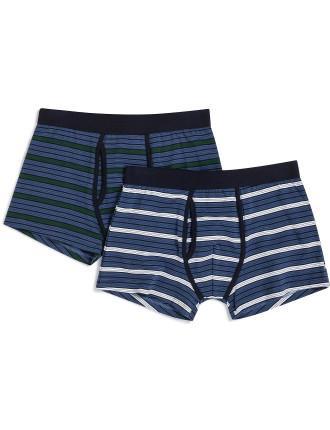 2 Pack Stripe Trunks