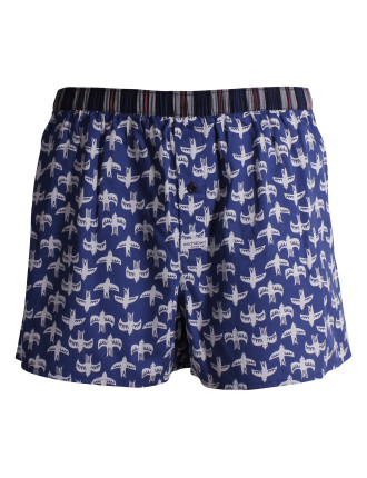Gulls In Flight Soft Wash Boxer Short
