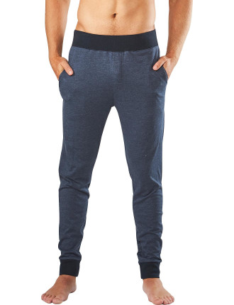 PLAIN DYED SLIM LEG KNIT SLEEP PANT