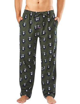 MOODY BEARS FLANNEL SLEEP PANT