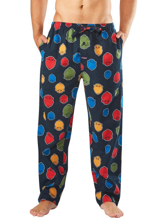 MONKEY MASK FLANNEL SLEEP PANT