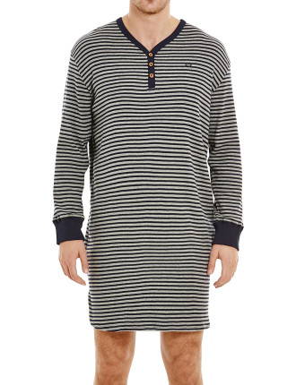 Oxford Rib Nightshirt