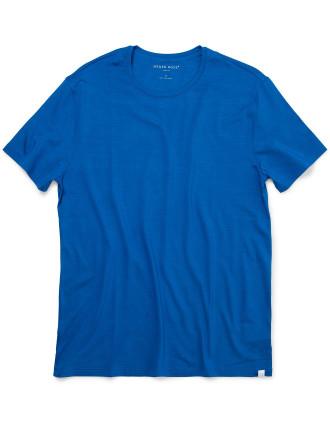 Basel 2 Blue Men'S S/S R/N T-Shirt