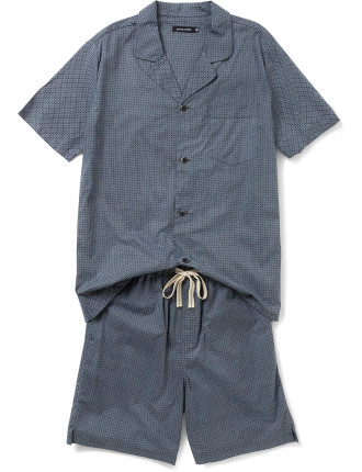 Ss Woven Top And Woven Short