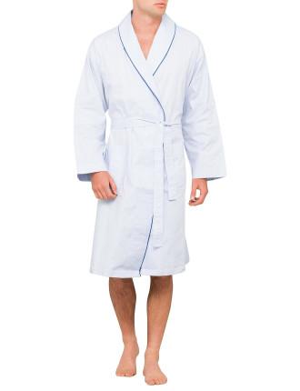 Monaco Emb Cotton Robe