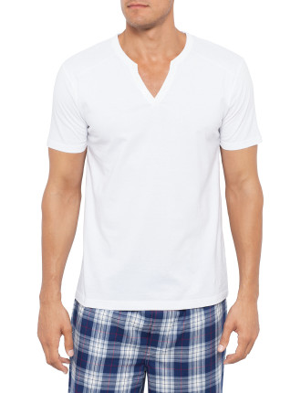Henley Sleep Tee