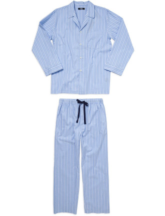 Woven Top And Pant Long Set
